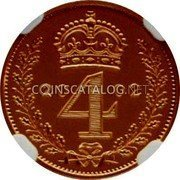 UK 4 Pence 2002 British Royal Mint Proof KM# 902a Pre-Decimal coinage coin reverse