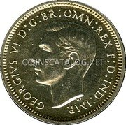 UK 4 Pence Groat 1948 Prooflike KM# 851a coin obverse