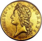 UK 5 Guineas George II (5 Guineas) 1729 KM# 571.2 GEORGIVS ∙ II ∙ DEI ∙ GRATIA coin obverse