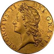 UK 5 Guineas George II (5 Guineas) 1741 KM# 571.1 GEORGIVS ∙ II ∙ DEI ∙ GRATIA coin obverse