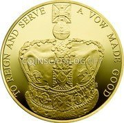 UK 5 Pounds 2013 Proof KM# 1242b Decimal Coins coin reverse