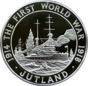 UK 5 Pounds Jutland 2015 British Royal Mint Proof KM# 1295 1914 THE FIRST WORLD WAR 1918 ∙ JUTLAND ∙ coin reverse