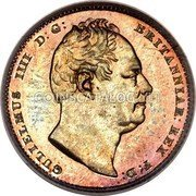 UK 6 Pence 1831 KM# 712a Pre-Decimal coinage coin obverse