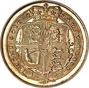 UK 6 Pence George III 1817 KM# 665 HONI∙SOIT∙Q MAL∙Y∙PENSE∙ coin reverse