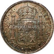 UK Crown 1791-1808 CM Date: ND(1797) KM# 634 Bank of England coin reverse