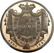 UK Crown 1831 Proof KM# 715 Pre-Decimal coinage coin reverse
