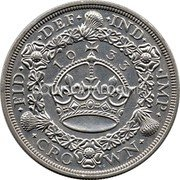UK Crown 1933 KM# 836 Pre-Decimal coinage coin reverse
