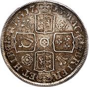 UK Crown Anne 1713 KM# 536 MAG - BRI FR - ET ∙ HIB - REG ∙ coin reverse