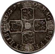 UK Crown Anne E below bust 1707 KM# 526.1 MAG∙ BRI∙FR∙ ET∙HIB∙ REG ∙*YEAR*∙ coin reverse