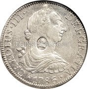 UK Dollar 1772-1789 CM Date: ND(1797) KM# 632 Bank of England coin obverse