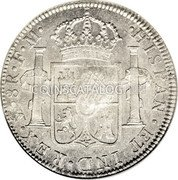 UK Dollar 1772-1789 CM Date: ND(1797) KM# 632 Bank of England coin reverse