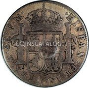 UK Dollar 1789-1790 CM Date: ND(1797) KM# 633 Bank of England coin reverse