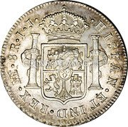 UK Dollar 1789-1791 CM Date: ND(1797) KM# 637 Bank of England coin reverse