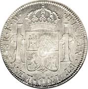 UK Dollar George III 1772-1789 CM Date: ND(1797) KM# 632 HISPAN∙ET IND∙REX∙ MO . 8R . FM coin reverse
