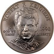USA Dollar Robert F. Kennedy 1998 S KM# 287 ROBERT R. KENNEDY IN GOD WE TRUST LIBERTY coin obverse