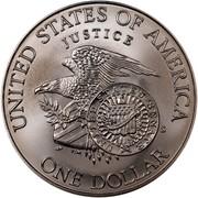 USA Dollar Robert F. Kennedy 1998 S KM# 287 UNITED STATES OF AMERICA ONE DOLLAR JUSTICE UNITED STATES SENATE E PLURIBUS UNUM coin reverse