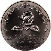 USA Dollar U.S. Botanic Garden 175th Anniversary 1997 P KM# 278 UNITED STATES BOTANIC GARDEN 1820-1995 E PLURIBUS UNUM coin obverse