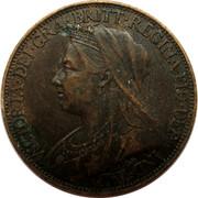 UK Farthing Victoria 1897 Mintage included with KM#788.1 KM# 788.2 VICTORIA ∙ DEI ∙ GRA ∙ BRITT ∙ REGINA ∙ FID ∙ DEF ∙ IND ∙ IMP ∙ coin obverse