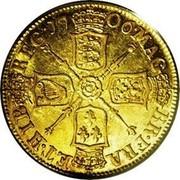 UK Guinea Anne no VIGO below bust 1706 KM# 511.1 MAG BR FRA ET ∙ HIB REG ∙ coin reverse