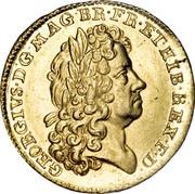 UK Guinea George I 1714 KM# 538 GEORGIVS ∙ D ∙ G ∙ MAG ∙ BR ∙ FR ∙ ET ∙ HIB ∙ REX ∙ F ∙ D ∙ coin obverse