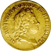 UK Guinea George I 1715 KM# 542 GEORGIVS ∙ D ∙ G ∙ MAG ∙ BR ∙ FR ∙ ET ∙ HIB ∙ REX ∙ F ∙ D ∙ coin obverse