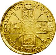 UK Guinea George I 1715 KM# 542 BRVN ∙ ET L ∙ DVX S ∙ R ∙ I ∙ A ∙ TH ET ∙ EL ∙ coin reverse
