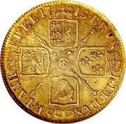 UK Guinea George I 1715 KM# 543 BRVN ∙ ET L ∙ DVX S ∙ R ∙ I ∙ A ∙ TH ET ∙ EL ∙ coin reverse
