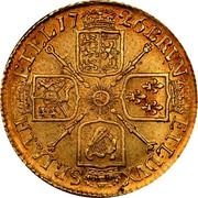 UK Guinea George I Elephant and castle below head 1726 KM# 559.1 BRVN - ET ∙ L ∙ DVX S ∙ R ∙ I ∙ A ∙ TH ET ∙ EL ∙ coin reverse