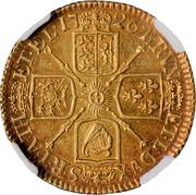UK Guinea George I No elephant and castle below head 1726 KM# 559.2 BRVN ET ∙ L ∙ DVX ∙ S ∙ R ∙ I ∙ A ∙ TH ET ∙ EL ∙ coin reverse