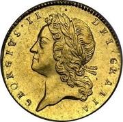 UK Guinea George II 1727 KM# 562 GEORGIVS ∙ II ∙ DEI ∙ GRATIA coin obverse
