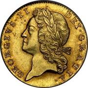 UK Guinea George II 1727 KM# 563 GEORGIVS∙II DEI∙GRATIA. coin obverse