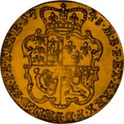 UK Guinea (George II (Guinea)) KM# 577.3 M∙B∙F∙ET∙H∙REX∙F∙D∙B∙ET∙L∙D∙S∙R∙I∙A∙T∙ET∙E∙*YEAR*∙ coin reverse
