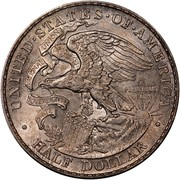USA Half Dollar Illinois Centennial-Lincoln 1918 KM# 143 • UNITED • STATES • OF • AMERICA • HALF DOLLAR • E PLURINUS UNUM NATIONAL UNION SOVEREIGNTY STATE coin reverse