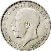 UK One Florin Two Shillings 1923 KM# 817a GEORGIVS.V D.G.BRITT:OMN:REX F.D.IND:IMP: B.M. coin obverse