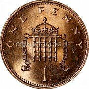 Great Britain New Penny