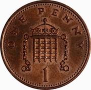 UK One Penny Elizabeth II 1986 KM# 935 ONE PENNY 1 coin reverse