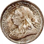 UK Penny Victoria 1895 Prooflike KM# 775 VICTORIA∙DEI∙GRA ∙ BRITT∙REGINA∙FID∙DEF ∙ IND∙IMP T.B. coin obverse