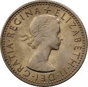 UK Six Pence Elizabeth II (1st portrait) 1967 KM# 903 + ELIZABETH∙II∙DEI∙GRATIA∙REGINA coin obverse