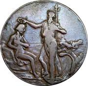 UK 1/2 Penny Hampshire - Portsmouth / Thomas Sharp ND (1797)  - coin obverse