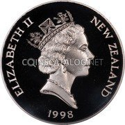 New Zealand 150 Dollars 1998 Proof KM# 126 Decimal Coins coin obverse