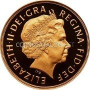 UK 2 Pounds KM# 1072 British Royal Mint Sovereign Coins ELIZABETH·II·DEI·GRA REGINA·FID·DEF IRB coin obverse