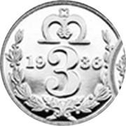 UK 3 Pence The King Edward VIII Maundy Pattern 2016 1936 3 coin reverse