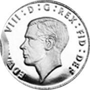 UK 4 Pence The King Edward VIII Maundy Pattern 2016 EDWARVDS VIII : D : G : REX : FID : DEF coin obverse