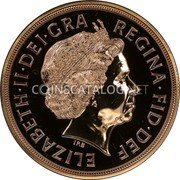 UK 5 Pounds 2013 British Royal Mint Proof KM# 1003.1 British Royal Mint Sovereign Coins ELIZABETH·II·DEI·GRA REGINA·FID·DEF IRB coin obverse