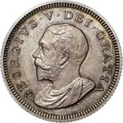 UK 8 Pence Pattern Octorino 1913 GEORGIVS V DEI GRATIA coin obverse