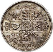 UK 8 Pence Pattern Octorino 1913 BRI 19 13 REX OCTO RINO coin reverse