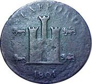 UK Penny Stafford - William Horton 1801  STAFFORD 1801 coin obverse