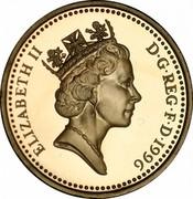 UK Pound Celtic Cross of Northern Ireland 1996 Proof KM# 972 ELIZABETH II D∙G∙REG∙F∙D∙1996 RDM coin obverse