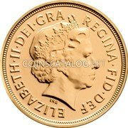 UK Sovereign 2012 KM# 1207 British Royal Mint Sovereign Coins ELIZABETH·II·DEI·GRA REGINA·FID·DEF IRB coin obverse
