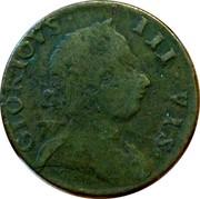 UK 1/2 Penny Gloriovs III Vis - Britons Rule 1788 Atkins# 272 GLORIOVS III VIS coin obverse